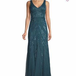Aidan Mattox Green Gown